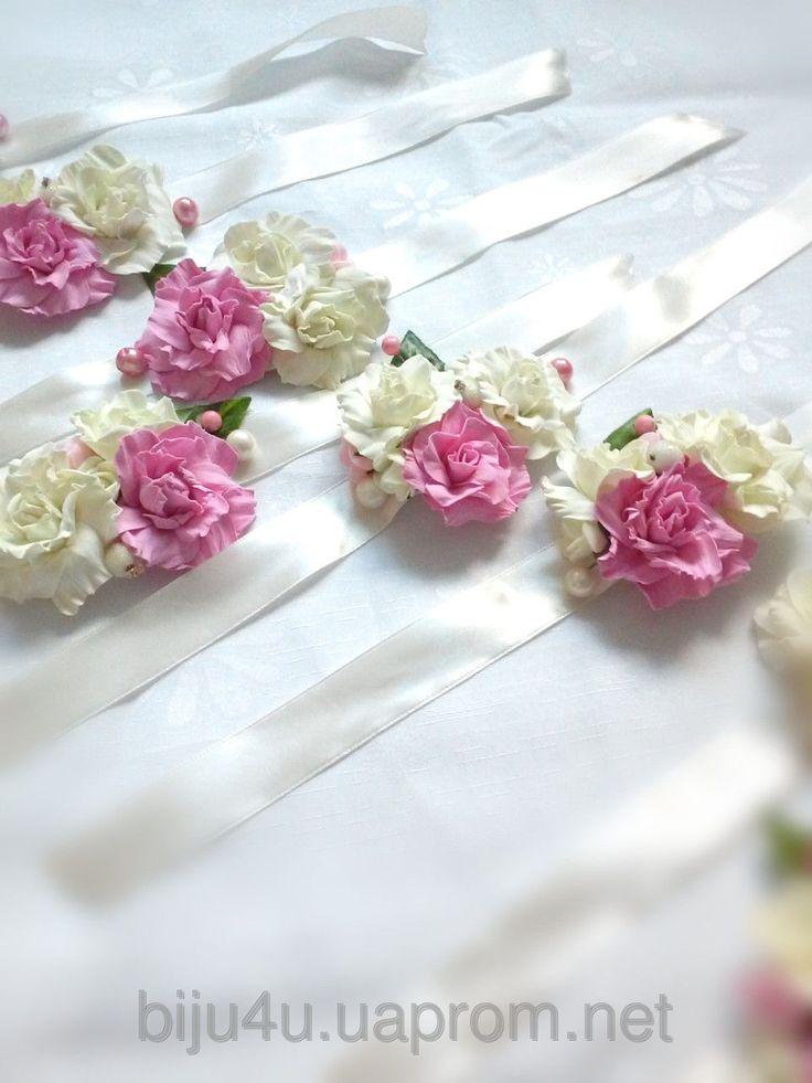 #Свадебные браслеты, #браслет подружек невесты, #wedding bracelets, floral crown.
