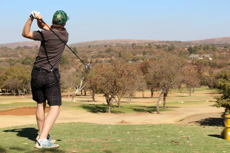 First golf game