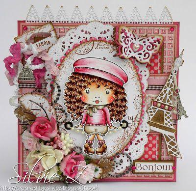 Created-By-Silvie-Z.: La-La Land Crafts - Beret Marci ♥