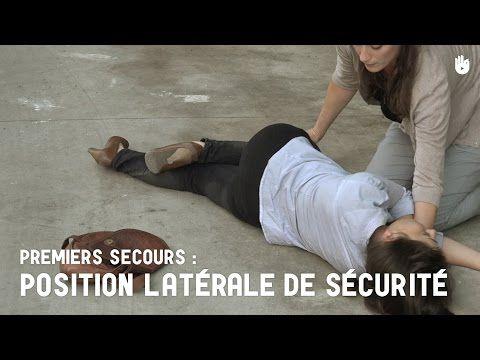Position latérale de sécurité. Croix Rouge/Croissant Rouge - YouTube