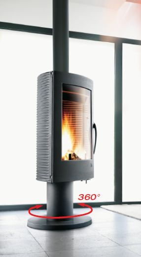 Buy Invicta Pharos 12 kW Wood Burning Stove from