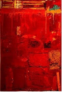 Robert Rauschenberg's Red Painting