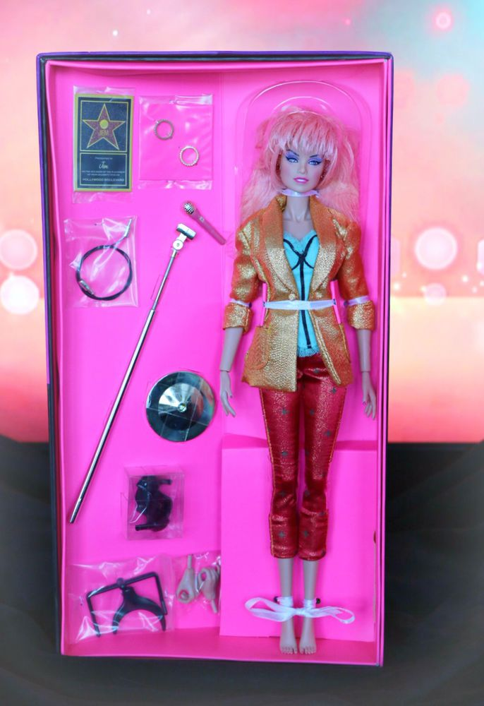 Integrity Toys SDCC Jem and the Holograms Hollywood Jem Fashion Doll! BRAND NEW! #Hasbro #DollswithClothingAccessories