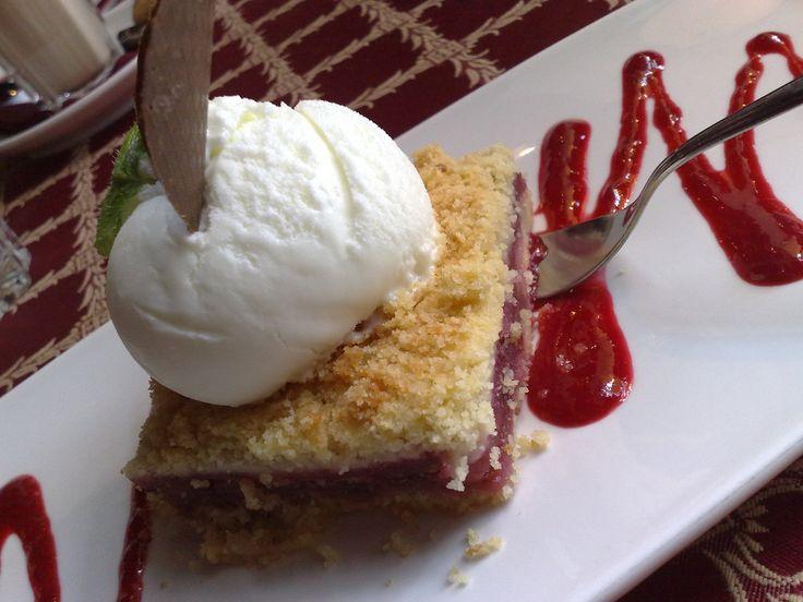 Best Rhubarb Cake Sour Cream