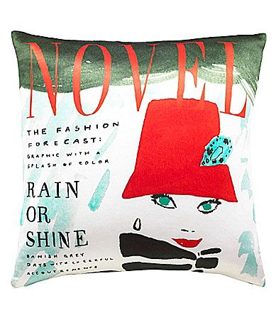kate spade new york Rain or Shine 20 Square Pillow #Dillards