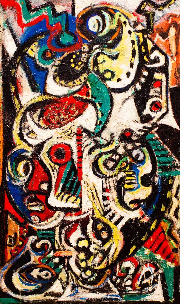 Expresionismo Abstracto americano.  By Jackson Pollock.