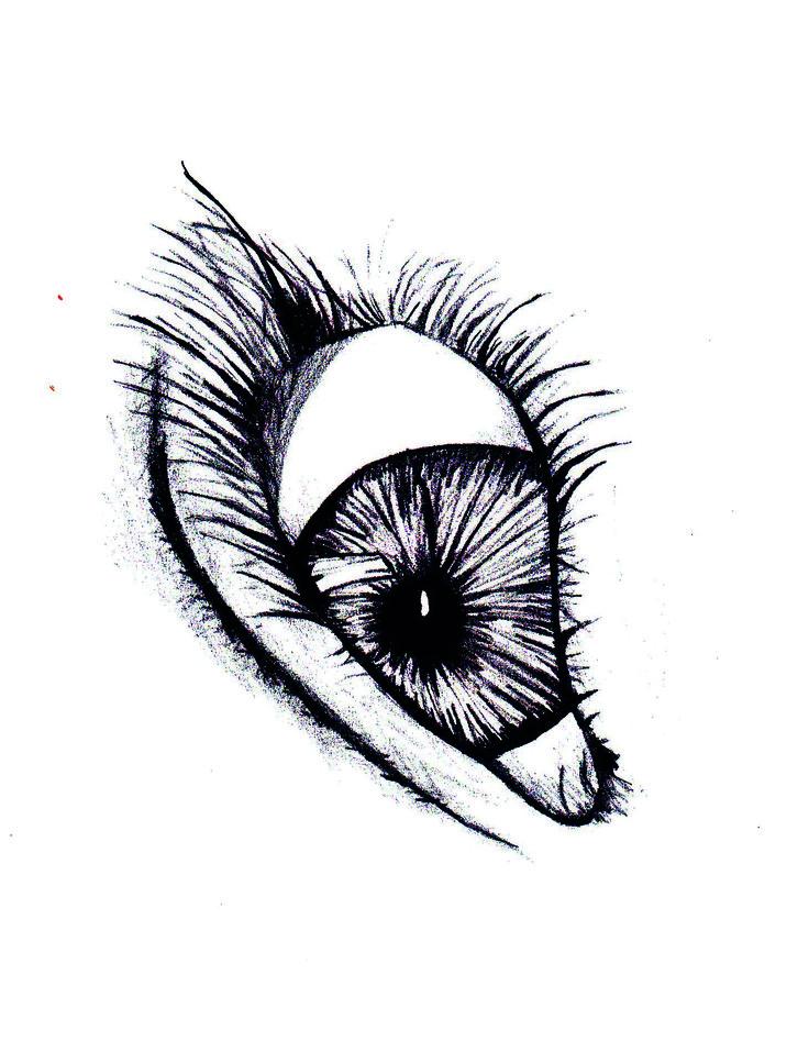 Wer sehen will, muss die Augen schließen.
