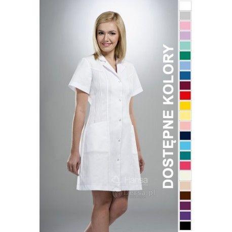 Dobrej jakości i wygodna odzież medyczna, to niezawodny atrybut każdego lekarza, pielęgniarki, czy farmaceutki. Fartuchy medyczne ,laboratoryjne damskie.
