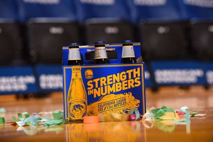 Anchor Brewing, Golden State Warriors partner up on new California Lager packaging