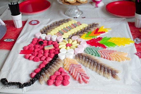 Waouh! Un indien en bonbons !