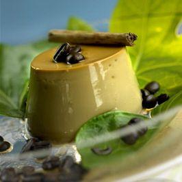 Flan de crema de café con mascarpone - Recetas de Cocina