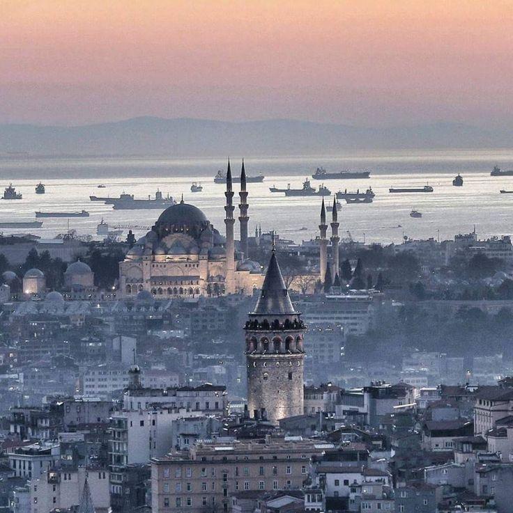 Istanbul ciudad gris