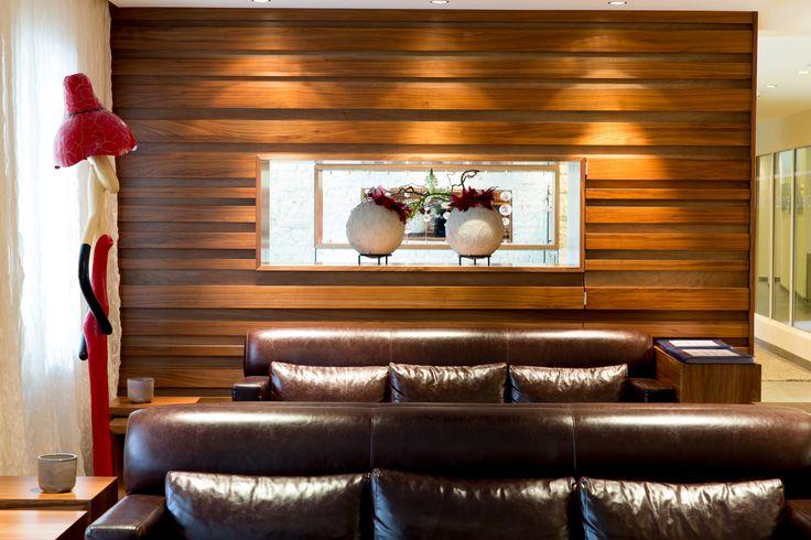 Lounge am Eingangsbereich im Hotel Feldhof