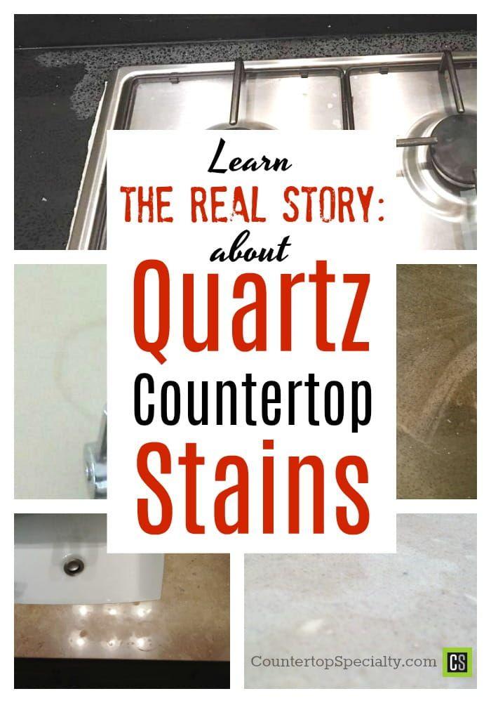 Quartz Countertop Stain Quartz Countertops Countertops Clean