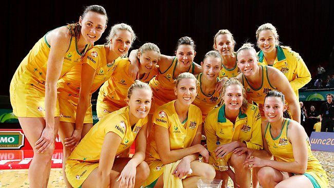 Australian Diamonds - favourite netball team