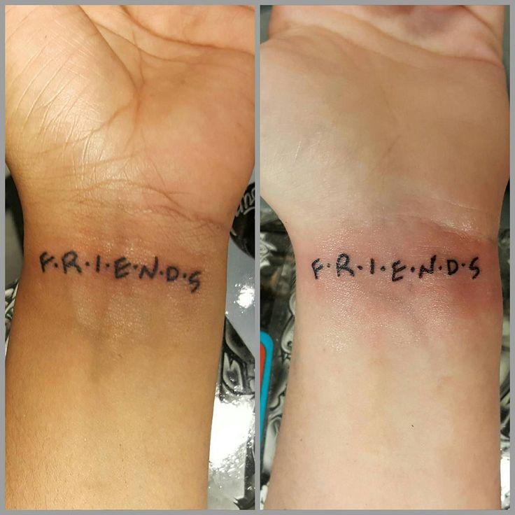 Best Friend Inked Girls Wrist Tattoos