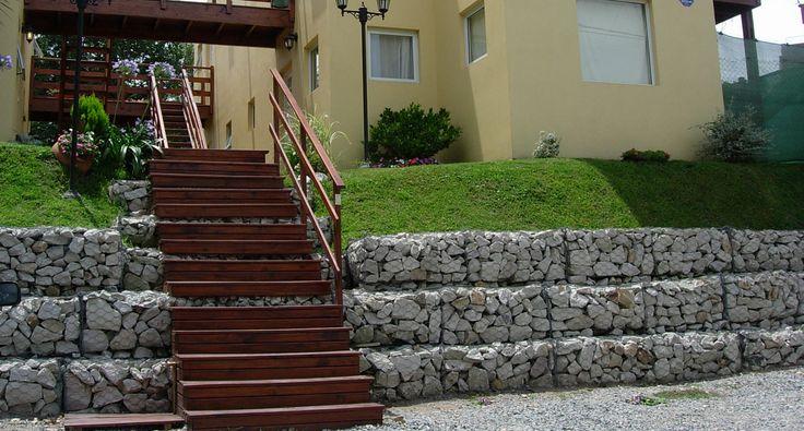 Resultado de imagen de muro de gavi n gaviones gabion - Muros de gavion ...