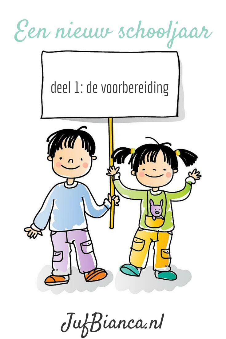 Een nieuw schooljaar - deel 1 de voorbereiding >> Wat doe je om het schooljaar voor te bereiden? - JufBianca.nl