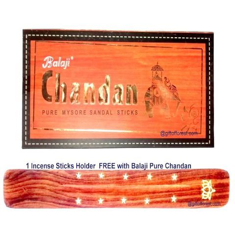 Balaji Pure Chandan Sandalwood Incense Sticks