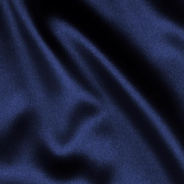 Tahari Stretch Satin Navy from @fabricdotcom  Get a high style look in this sophisticated very lightweight stretch satin fabric. This gorgeous fabric has a lustrous sheen that beautifully reflects the light and a beautiful hand and drape.   It is perfect for creating special occasion apparel, blouses, dresses, lingerie and skirts. Fabric has 10% stretch across the grain for added comfort and ease.