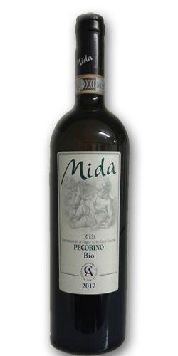 Offida Pecorino DOCG 2012, Mida. More details at http://www.artifooditalia.com/it/offida-pecorino-doc-2008-mida.html