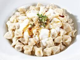 Manti ( Dumplings popular in most Turkic cuisine )