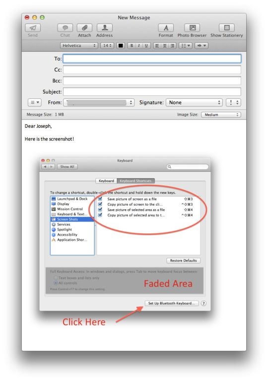 How To Quickly Annotate And Send A Screenshot In OS X