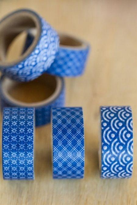 Mothology.com - Japanese Blue Pattern Masking Tape, $4.00 (http://www.mothology.com/japanese-blue-pattern-masking-tape/)