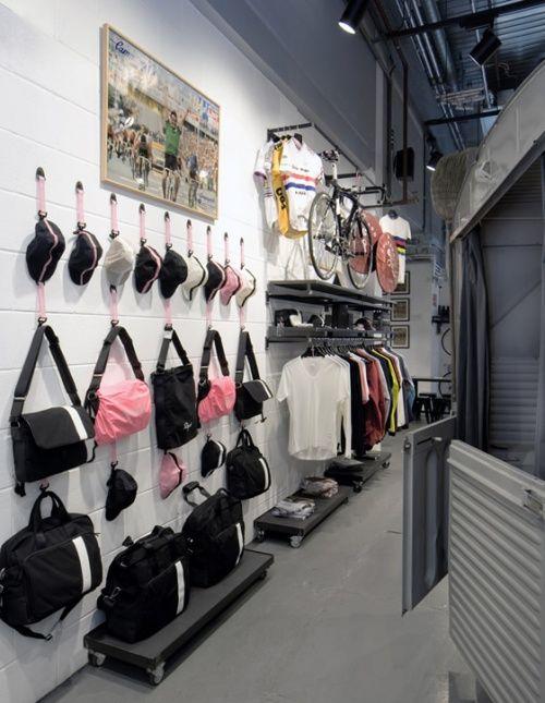Rapha Cycle Club Shop London - Shop Design Gallery