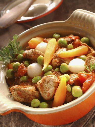 Cocotte de veau aux légumes nouveaux : Recette de Cocotte de veau aux légumes nouveaux - Marmiton