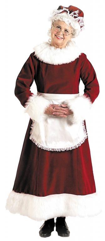 Women's+Mrs.+Claus+Costume