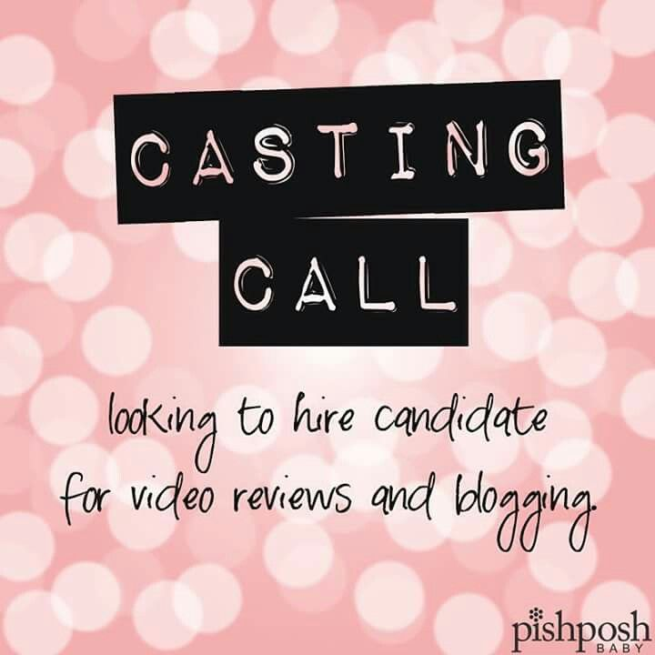 CASTING CALL! 🎥Do you have a passion for baby gear? We have an opening for a video reviewer and blogger for our boutique, located in Central NJ. Applicant should have writing skills and be comfortable in front of a camera. Video blogging experience not necessary but preferred. Submit link to sample video and your resume to hr@pishposhbaby.com along with the answer to this question: whats your favorite gear & why? Can't wait to hear from you! 💕💕💕 Know someone who'd be great for this position?