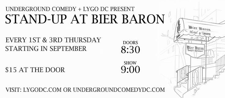 Bier Baron standup Poster 5