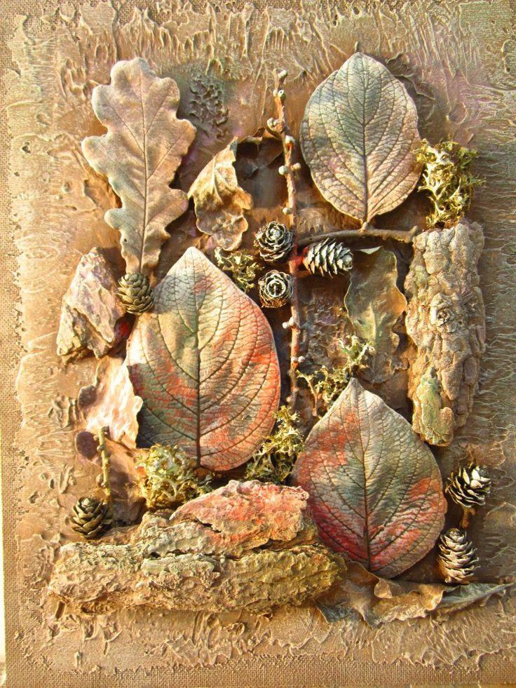 флористические коллажи в картинках декора