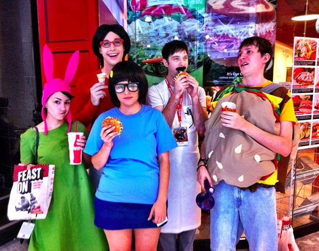 This Bob's Burgers costume is genius.