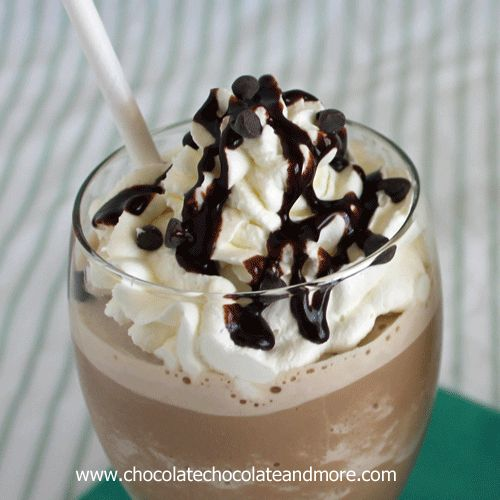 Frozen Mocha Frappuccino, never let coffee go to waste again!