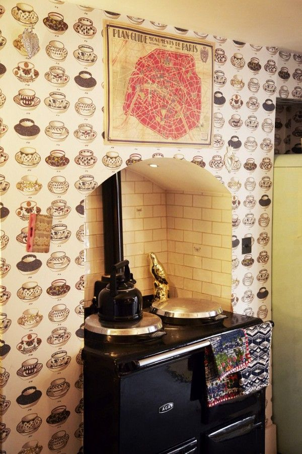 ah, lost love...   AGA at dustjacket attic: Erin | London | Retro