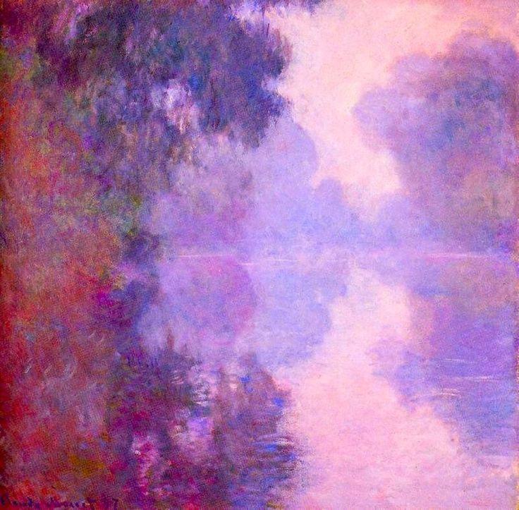 Misty Morning on the Seine - Claude Monet