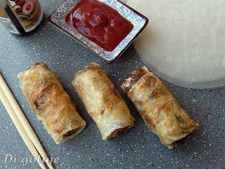 Di gotuje: Sajgonki (z mięsem mielonym i warzywami)
