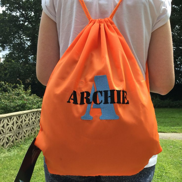 19 best Personalised Drawstring Bags images on Pinterest ...