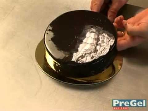 Come preparare Glassa a specchio al cioccolato RICETTA FACILE e VELOCE,PERFETTA - YouTube