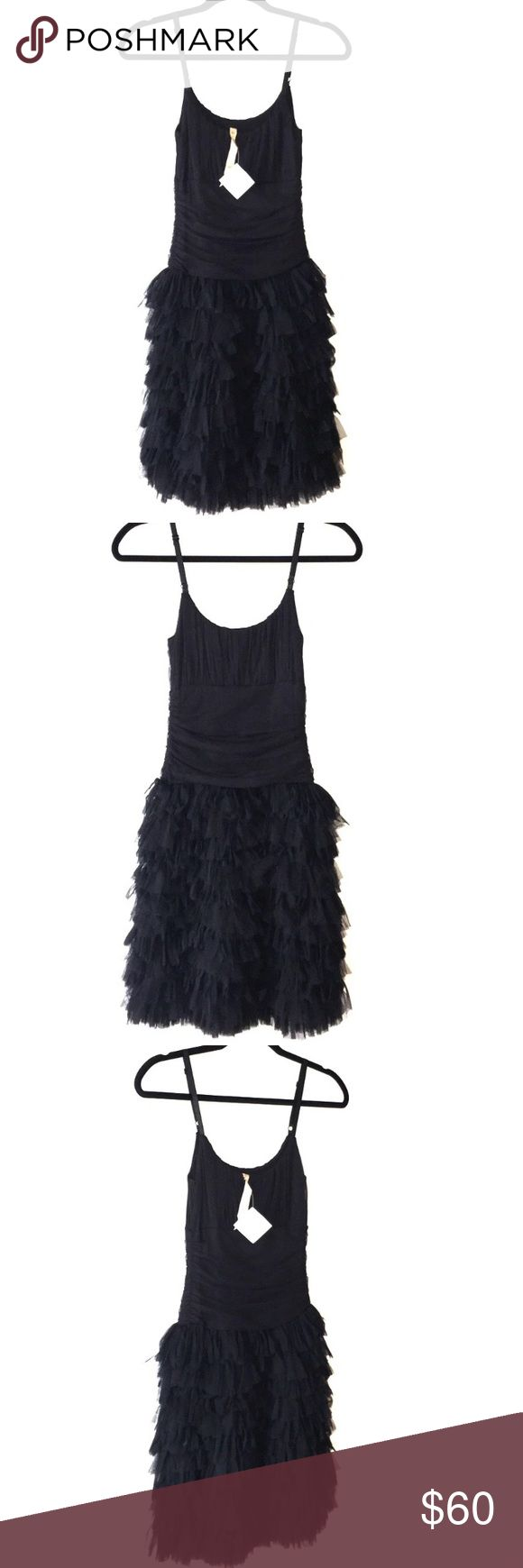 NWT Bailey 44 ruffle style little black dress Brand new with tags, size 2. This is a beautiful flawless dress that I bought and didn't end up wearing! Brand is Bailey 44 from Nordstrom Bailey 44 Dresses Mini