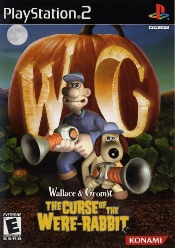 Wallace and Gromit Curse of the Were Rabbit - PS2 Game