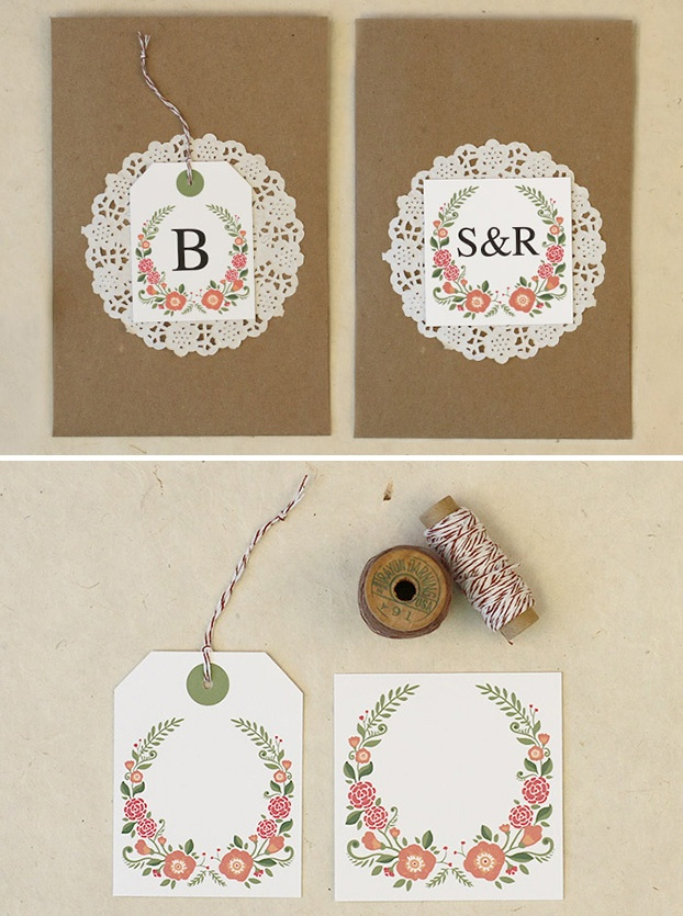 Free Editable Favor Labels and Tags