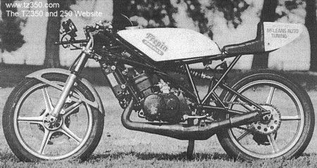 TZ350 and 250 Website