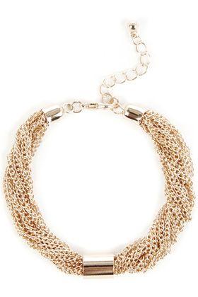 bracelets | Metallics Multi Row Tube Bracelet | Warehouse