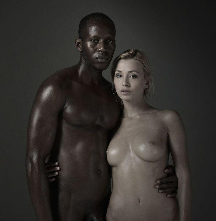 Interracial Couple Nude 6