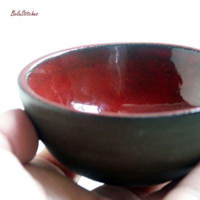 Bela Stitches: wheel thrown small  bowl
