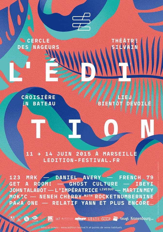 Festival L'édition 2015 au Théâtre Silvain, Marseille.