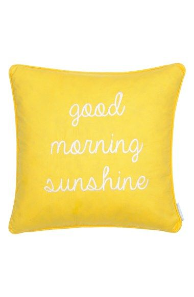Levtex 'Good Morning Sunshine' Pillow available at #Nordstrom